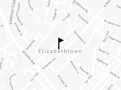 Map of Elizabethtown office location